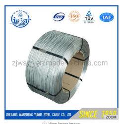 低価格の構築のための熱い浸された電流を通された鋼線の工場価格