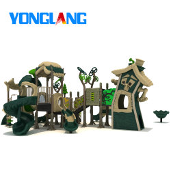 Большой открытый дом дерева последние парк развлечений на открытом воздухе детская игровая площадка с TUV из Вэньчжоу заводе (YL26235-03)