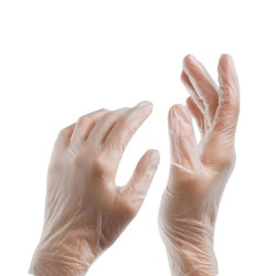 Hot Sale gant en PVC/Chine gros gant en PVC/Gants jetables en vinyle
