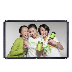 65 video del contrassegno dell'affissione a cristalli liquidi Digitahi di alta luminosità del blocco per grafici aperto del supporto della parete di Vesa di pollice per fare pubblicità