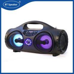 Mini altavoz portátil Bluetooth manos libres de altavoces inalámbricos para Karaoke Música Subwoofer Altavoz LED