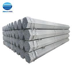 El mejor venta P235/2 Pulgadas/BS1387/REG/galvanizó/ASTM/Ronda/hilo/Ranurado/pintado/tubo de acero galvanizado Pre