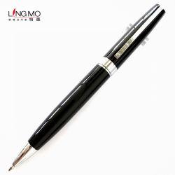 Pen de Van uitstekende kwaliteit van de Rol van het Metaal van de Gift van de Handtekening van Lingmo met het Embleem van de Douane