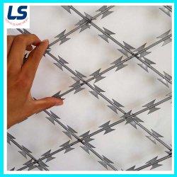 شبكة من الشبكات الملحومة بأسلاك شائكة لضمان الحماية من السياج