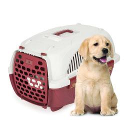 耐久のプラスチック飼い犬の輸送旅行飛行ケージ