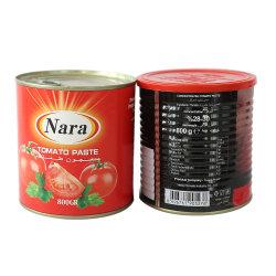 La pasta de tomate concentrado 830g latas