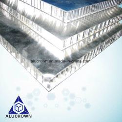 Poids léger en aluminium Panneau alvéolé pour mur de façade