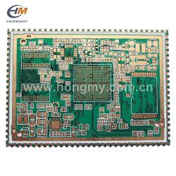 Or d'immersion Semi-Hole Double côté/carte de circuits imprimés multicouches PCB