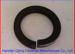 DIN125 DIN127亜鉛版の平らなスプリングウオッシャー