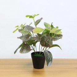 China hacer verdadero toque 35*32cm en macetas con plantas artificiales