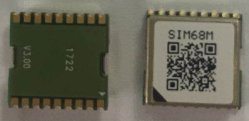 La carte SIM68M/Gllonass GPS/Galileo/Module Qzss avec haute performance de petite taille et de boîtier CMS Comsuption d'alimentation inférieur