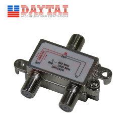 جهاز فصل القمر الصناعي CATV 10 ديسيبل جهاز مزج الإشارات CATV Diplexer