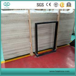 Marmo di legno bianco della vena/marmo di legno del grano per la pavimentazione/mattonelle/mosaico