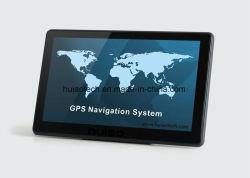 Goedkope GPS van de Huivering van de Vrachtwagen van de Auto 7.0inch Navigatie met Schors A7 800MHz, GPS van het Streepje Navigatie, aV-in de Camera van het Parkeren van het Streepje, Handsfree Bluetooth, isdb-t TV, 8GB