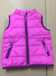 Baby Winter Fake Down Clothes Wear Vest