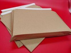 Дружественность к окружающей среде с возможностью расширения картонную коробку из гофрированного картона Plastic-Free отправителя конверта Self-Sealing бумаги бумага для транспортировки отправителя