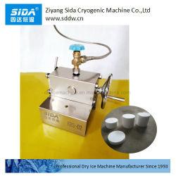 シダKbs02のホテルのレストランの実験段階の雲の霧効果のための機械を作る小型小さいドライアイスのブロックメーカー