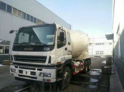 Mischende Trommel des internationaler Chassis-Marke Isuzu Hochleistungs8 Kubikmeter-Betonmischer-LKW-12m3