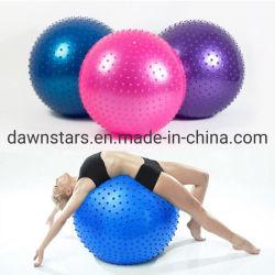 A Borracha natural ouriço PVC Fitness Bola yoga massagem para ginásio Exercício