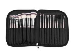 Professionnel OEM 18pcs cosmétique Brosse de maquillage avec la nouvelle pochette de mode