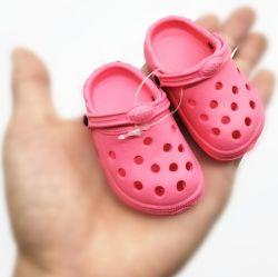 Горячие новые яркие мини-EVA детские тапочки благоухающем курорте засорению малыша для украшения