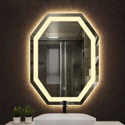 5мм CE UL монтироваться на стену отеля дома Бани декором оформлены сенсорный переключатель наружного зеркала заднего вида с подсветкой LED ванная комната с противотуманных фонарей