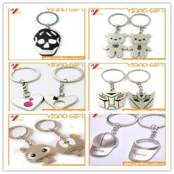 3D металлический логотип Cuseomed цепочки ключей сувенирный подарок (YB-HD-181)