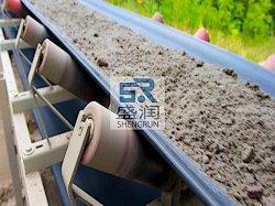 Nastro trasportatore in tela in tessuto di gomma DIN-Y resistente agli urti per cemento/cava/miniera