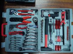 555 PCS Kraftwelle outil professionnel ensemble avec des attaches