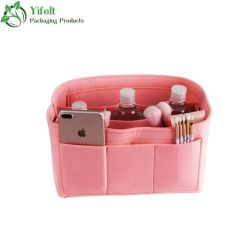 L'organizzatore della borsa dell'organizzatore del sacchetto dell'inserto del feltro include la borsa per il formato di scelta della borsa