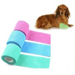 Le Pet cheval chien chat Vet plaie Bandage cohésif élastique