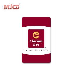 Rewritable RFID Gecodeerde Zeer belangrijke Kaart van het Hotel 13.56MHz/F08 voor Programmeerbare het Slot van de Deur