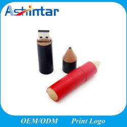 Memoria USB de madera de forma de lápiz de memoria USB Flash Drive USB3.0