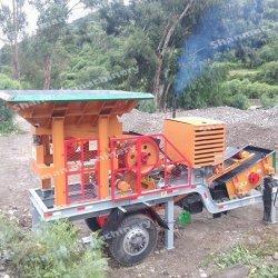 Stone/JAW/Cono/impacto/martillo/ROCK/Minería/Mineral/Trituradora móvil para asfalto/Cantera de granito y piedra caliza/guijarros//trituradora de mineral de oro