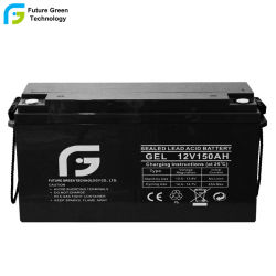 12V 150Ah batería VRLA selladas para Panel Solar PV