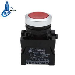 Xdl22-cw3462 LED rouge de l'élévateur IP67 bouton poussoir électrique avec la lumière