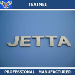 아BS 크롬 주문 차 로고 상징 Jetta 은 차 편지