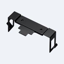 Custom листовой металл монтажные кронштейны Черный порошок покрытие OEM штамповки изгиба формирование службы