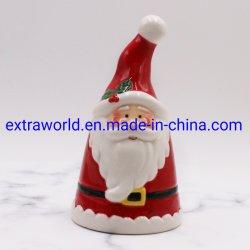 Commerce de gros de Noël en céramique artisanale personnalisée Cookie Jar