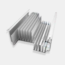 Dissipateur de chaleur en tôle en aluminium pour l'alimentation