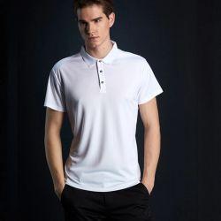 도매 빠른 드라이 폴로 셔츠 남성용 솔리드 통기성이 뛰어난 패션 남성용 폴로셔츠 반팔