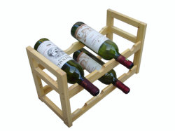 Le bois du vin Rectangle Rack (JD-WR006)