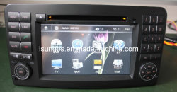 2 DIN 7인치 800 * 480 디지털 터치 스크린 카 오디오 GPS GPS가 있는 Mercedes Benz ML350용 GPS 내비게이션, BT, TV, iPod, PIP, 듀얼 존