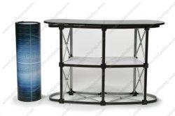 Piscina de exposições de alumínio publicidade exibe pop up Contador de promoção da Tabela