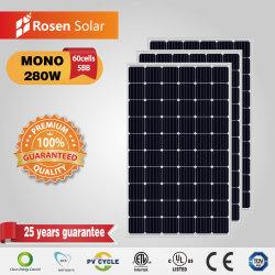 5bb Monocrystalline 280W Photovoltaic Zonnepaneel