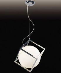 Элегантный современный очистить Стеклянный шарик регулируемой подвесной светильник для декоративной