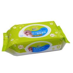 特別不織布は、軟質消毒剤、ウェット 99.9% 水、 0.1% 大豆を極めて湿らせています 赤ん坊のための穏やかに清潔な手を抽出しなさい