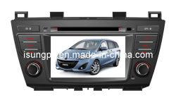 2 DIN 7 pouces écran tactile numérique de l'autoradio GPS pour Mazda 5 2010-2012 (TS7259)