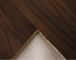 Plancia larga afflitta della quercia di Handscraped tre pavimenti di legno di strati