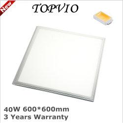 5 лет гарантии LED Подсветка панели потолка 60*60см 36W/40W/45 Вт/48W квадратные светодиодные лампы панели